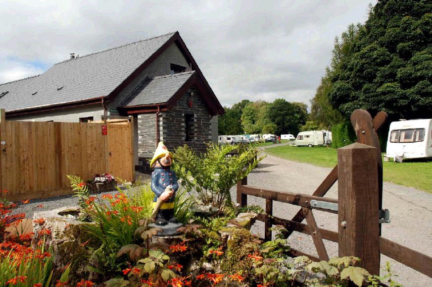 Tyn Cornel Camping and Caravan Park, Bala,Gwynedd,Wales