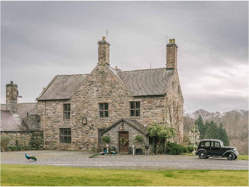 Click here for more about Talhenbont Hall